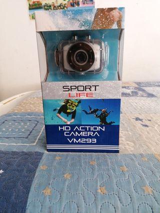 cámara acuática HD