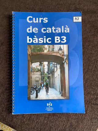 Libros Curs de Catalá bàsic / curso catalan b3
