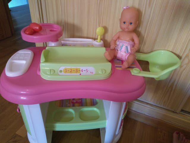 Mueble cambiador Mimittos para muñecas