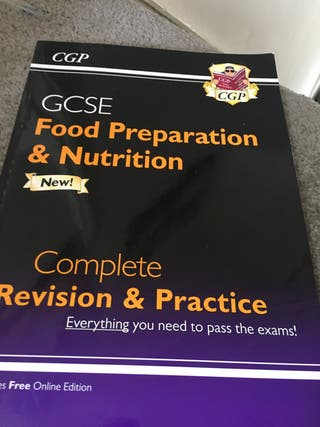 GCSE food preparation and nutrition revision