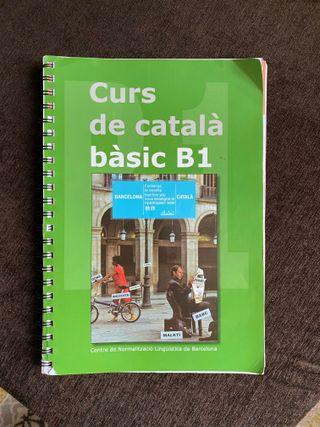 Libros Curs de Catalá bàsic / curso catalan b1