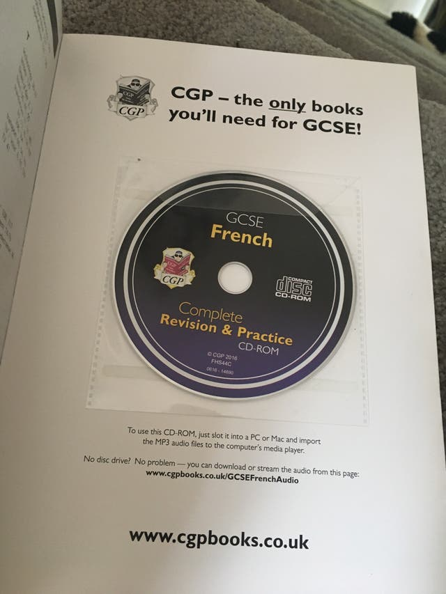 GCSE French revision book
