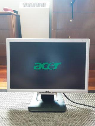 Pantalla ordenador ACER LCD + Cable HDMI - VGA