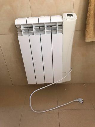 Radiador eléctrico pared. Pequeño. Para baño.