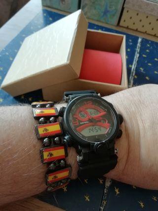 Reloj digital deportivo Epozz + pulsera