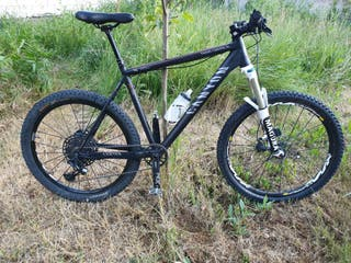 Bicicleta Canyon a piezas