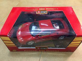 Maqueta Ferrari 360 Modena 1/18