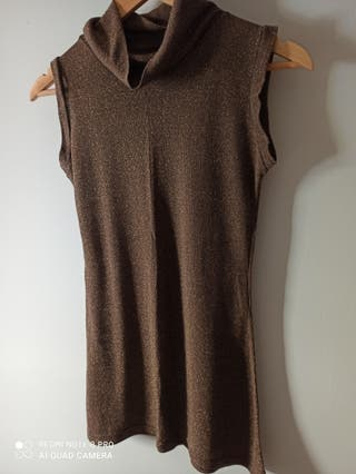 camiseta larga sin mangas tambi vale como vestido