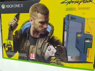 xbox one x cyberpunk 2077 SIN ABRIR
