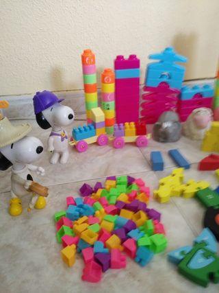 lote de juguetes como ves en la foto