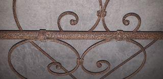 Cama de hierro forjado