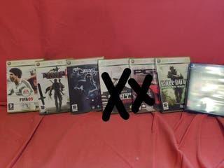 Juegos para Xbox 360 y PlayStation 4