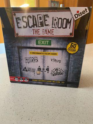 Juego Escape Room de Diset