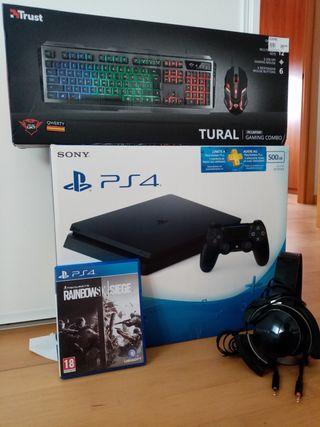 Vendo o cambio PS4 500gb