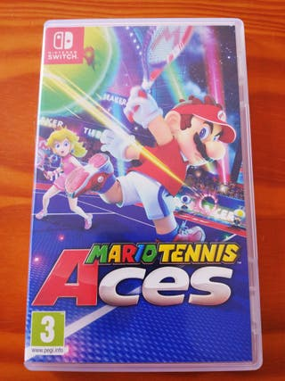 Mario Tennis Aces. Nintendo Switch.