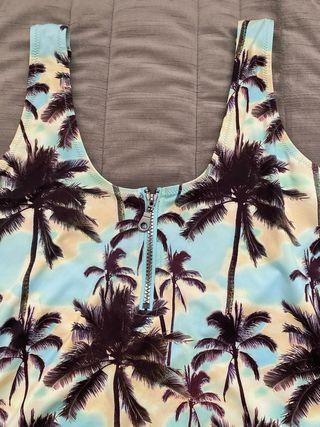 Bañador palmeras cremallera H&M - 40