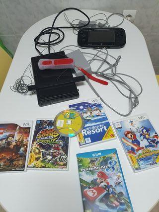 Wii U 32Gb Negra+GamePad
