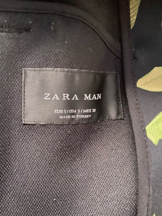 Chaqueta Zara hombre mujer
