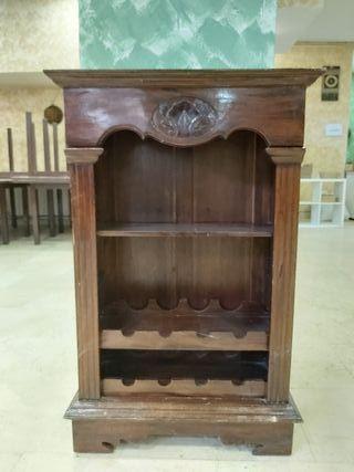 estantería madera