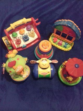 lote de juguetes de bebé, 1 y 2 años