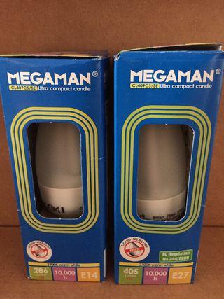 bombillas Megaman vela