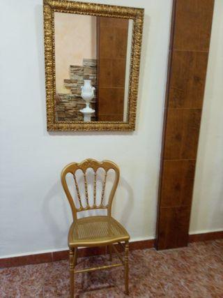 Espejo + silla