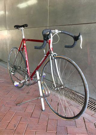 Bicicleta clásica M. Heredia Cromovelato t56