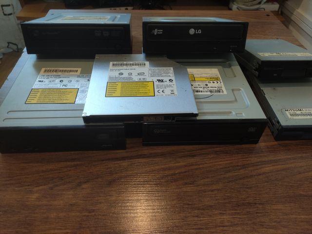 Lote/Separado Grabadoras DVD/Cd PC Sobrem-Portatil