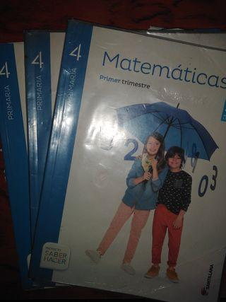 Libro matemáticas 4 primaria santillana