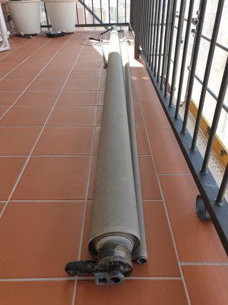 Toldo vertical balcón