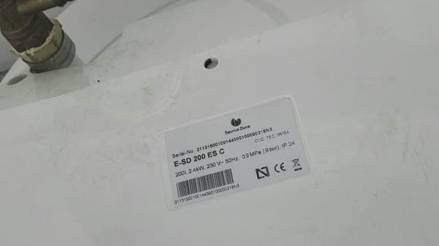 calentador Saunier Duval 200l