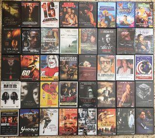 Pack 80 DVDs de todo género de películas de cine