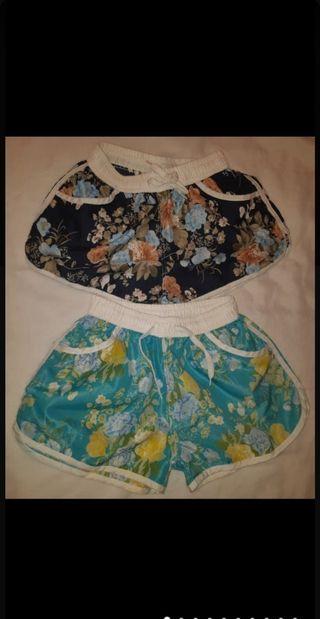 Pack T 34 GRCF pantalones cortos mujer