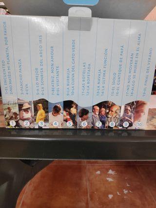 Colección VHS de verano azul