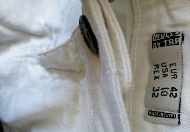 Falda blanca. T42. Zara