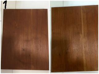 Caoba madera tablero lienzo cuba