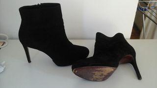 Botines negros de Zara t41
