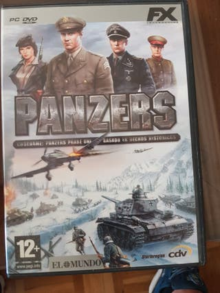 Juego PC Panzers