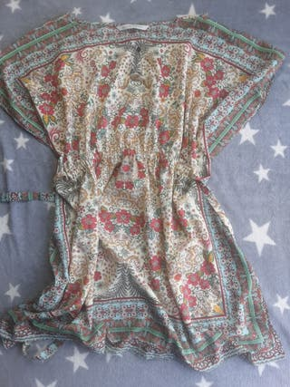 vestido zara trf talla hermoso como nuevo