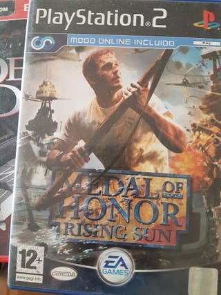 Juego Medal of Honor - Rising Sun - PS2