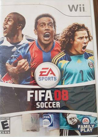 Juego Wii FIFA 08