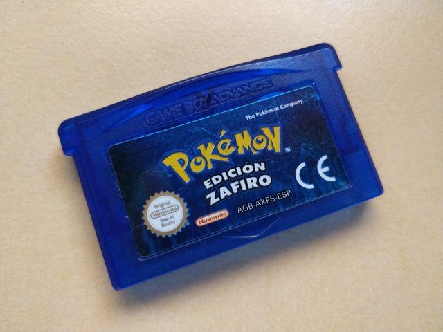 Pokémon Edición Zafiro. GBA.