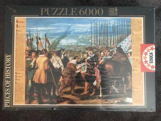 """Puzzle 6000 piezas """"La rendición de Breda"""""""