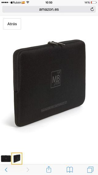 "Funda Tucano Second Skin MacBook Air 11"""