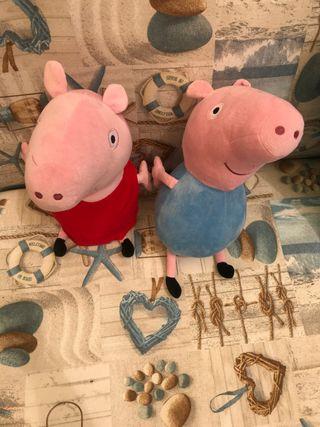 Pepa Pig y George Pig