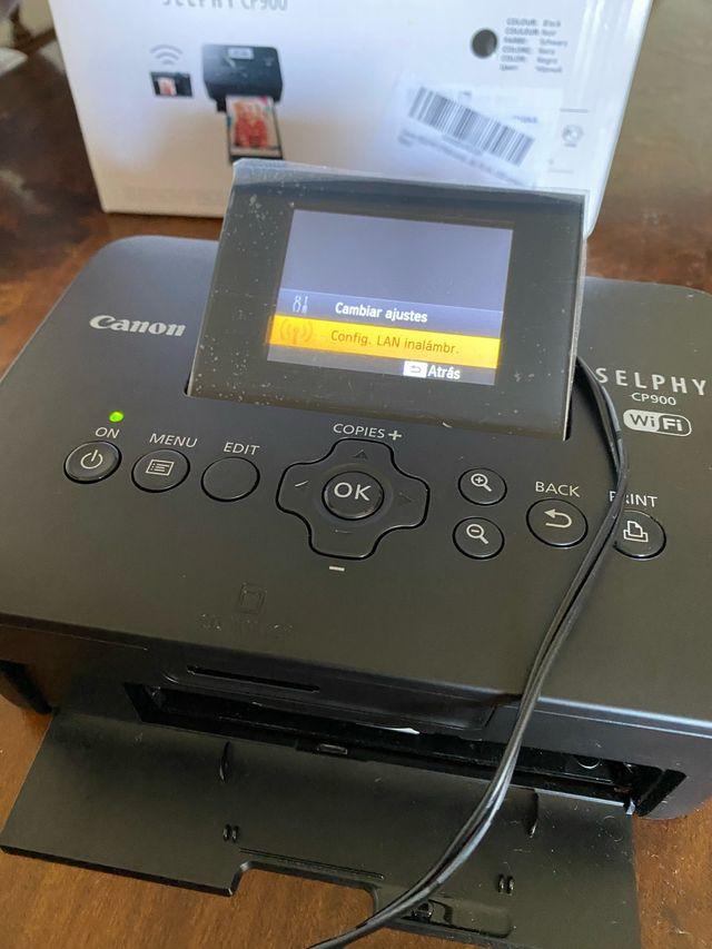 Impresora fotos canon selphy CP900
