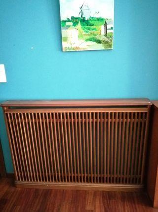 cubre radiadores madera maciza