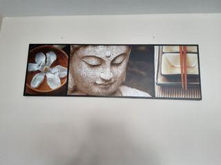 Cuadro decoración Buda Muy Mucho no Ikea