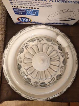 plafón grande cerámica y regalo