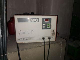 cargador de carretilla electrica